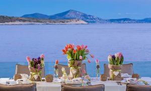 Best beach wedding reception - Destination Weddings in Greece