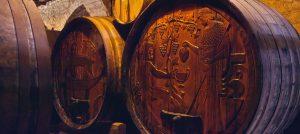 Peloponnese wine barrels - Best Greece Food & Wine Tours