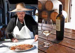 Santorini cuisine - Best Greece Food & Wine Tours