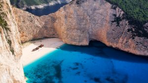 Shipwreck beach, Zakynthos - Luxury Vacations & Honeymoons