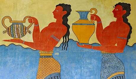 Minoan Fresco - Crete Luxury Vacations