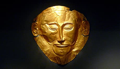 Mycenae Agamemnon Mask