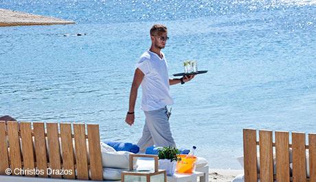 Mykonos best beach club - Mykonos Luxury Vacations and Honeymoons