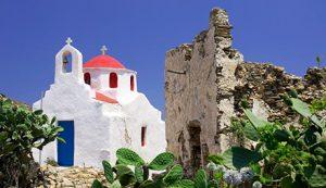 Mykonos island scenery - Luxury Vacations & Honeymoons