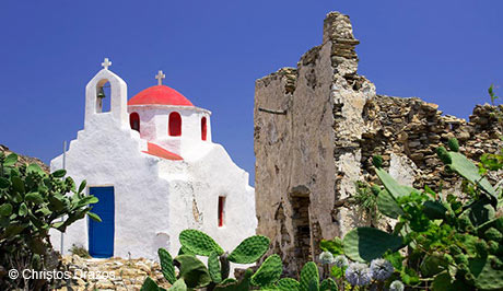 Picturesque island scenery - Mykonos Luxury Vacations and Honeymoons