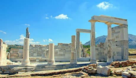 Naxos Greece Temple of Demeter