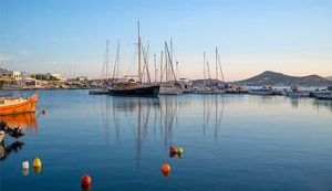 Naxos Greece harbor - Luxury Vacations & Honeymoons