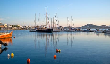 Naxos Greece harbor