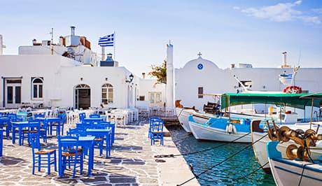 Paros Naoussa fish tavern