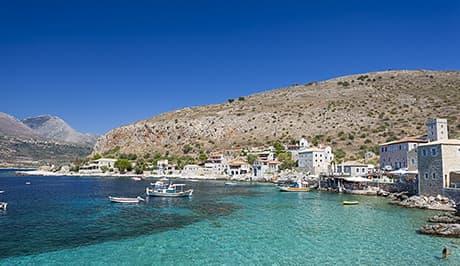 Peloponnese fishing village