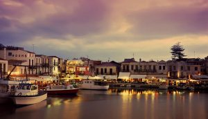 Rethymnon, Crete harbor - Luxury Vacations & Honeymoons