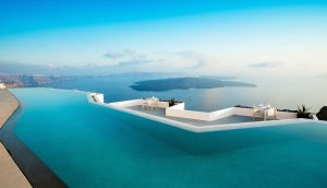Best Santorini hotel pool - Luxury Vacations & Honeymoons