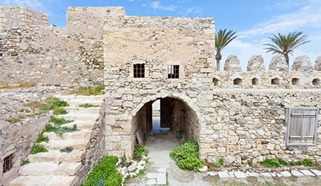 Venetian fortress in Crete - Crete luxury vacations