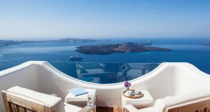 Best Santorini villa view - Greek Island Luxury Villa Rentals