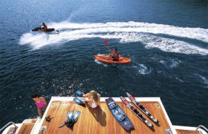 Water sports - Luxury Motor Yacht Charters