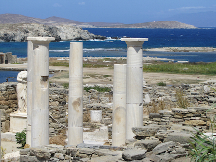 "Sacred Delos – a ""Must See"" in the Greek islands"